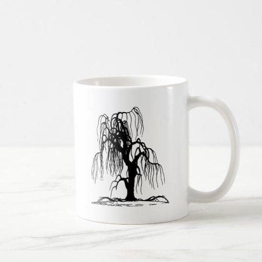 Weeping Willow Tree Coffee Mugs