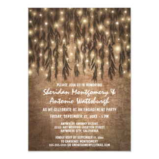 Weeping Willow Tree Engagement Party Invitations