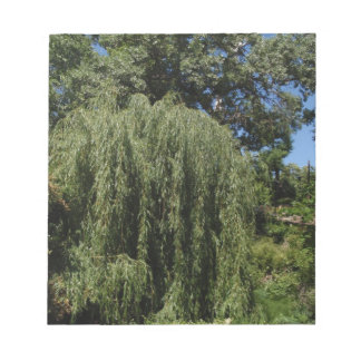 Weeping Willow Tree Notepad