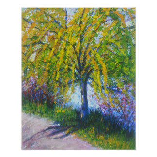 """""""Weeping Willow Tree"""" Print"""