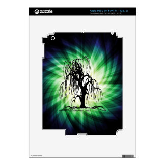 Weeping Willow Tree Skin For iPad 3