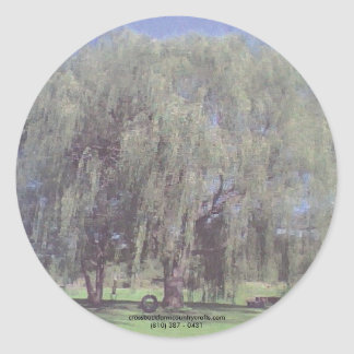 Weeping WIllow Tree Stickers