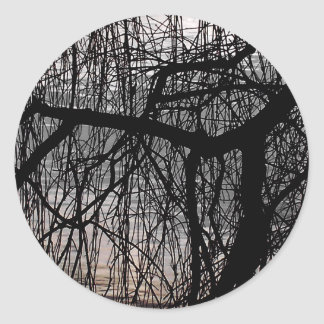 WEEPING WILLOW TREES STICKER