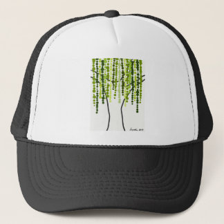 weeping willow trucker hat