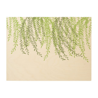 Weeping Willow Wood Wall Decor