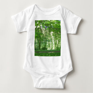 Weeping Willows with Pond Baby Bodysuit