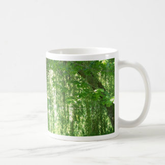 Weeping Willows with Pond Classic White Coffee Mug