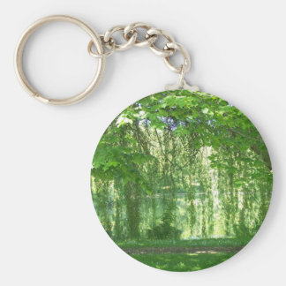 Weeping Willows with Pond Keychain