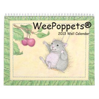 WeePoppets® Wall Calendar