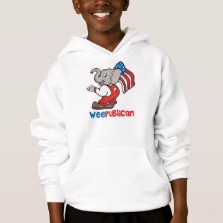 WeePublican and Flag Hoodie