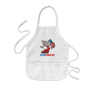 WeePublican and Flag Kids' Apron