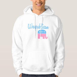 Weepublican (Blue) Hoodie