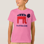 Weepublican cute elephant mascot CUSTOMIZE T-Shirt