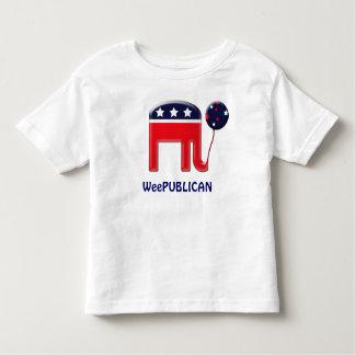 Weepublican cute elephant mascot CUSTOMIZE Toddler T-shirt