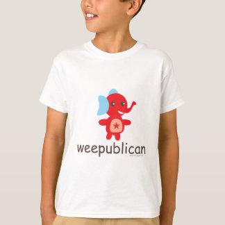 Weepublican Elephant Design T-Shirt