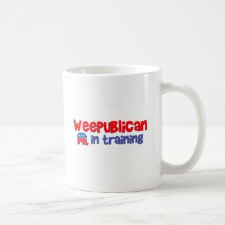 WeePublican en el entrenamiento Taza Básica Blanca