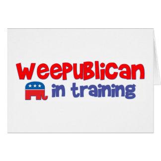 WeePublican in Training Card