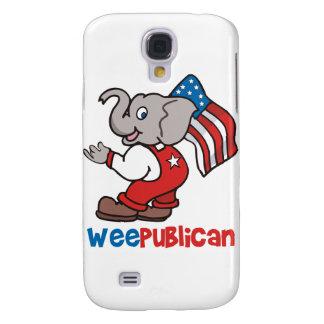WeePublican y bandera Funda Para Galaxy S4