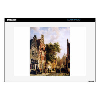 """Weeshuis in Enkhuizen by Cornelis Springer Skins For 15"""" Laptops"""
