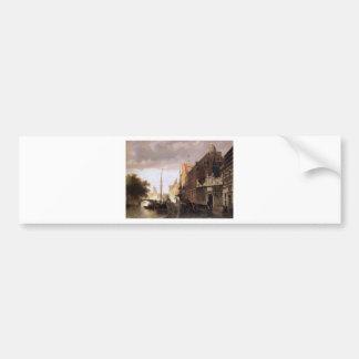 Weeshuis in Kampen by Cornelis Springer Bumper Sticker