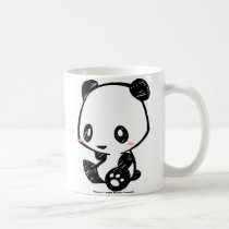 Weetle Panda Classic White Coffee Mug