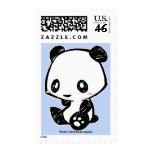 Weetle Panda Postage Stamps
