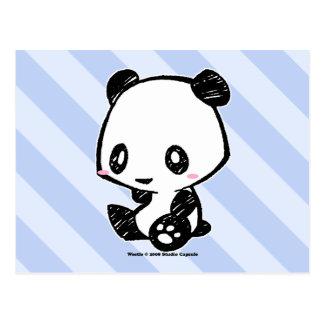 Weetle Panda Postcard