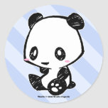 Weetle Panda Stickers
