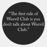 weevilclub sticker