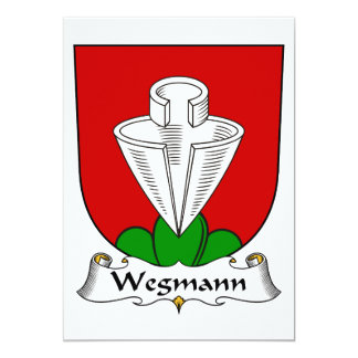 Wegmann Family Crest Card