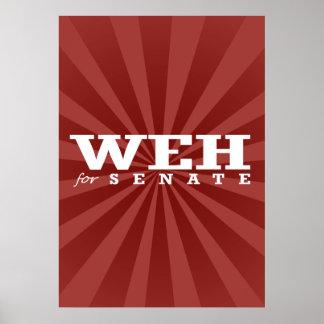 WEH PARA EL SENADO 2014 - ELECCIÓN - PNG POSTERS