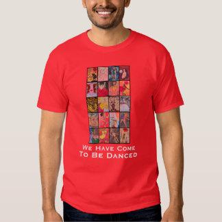 WeHaveComeToBeDancedSwapTee-male T-shirt