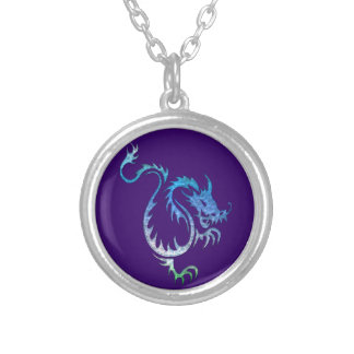 Wei the Magical Dragon Fantasy Art Necklaces