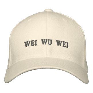 Wei Wu Wei Embroidered Baseball Cap