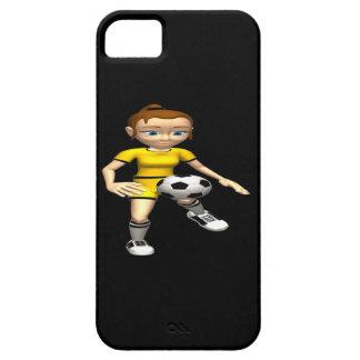Weiblicher Fußball-Spieler iPhone SE/5/5s Case