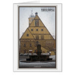 Weiden id Opf - Snowfall at the Rathaus Card