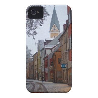 Weiden id Opf - Snowy Side Street Case-Mate iPhone 4 Case