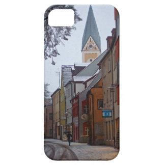 Weiden id Opf - Snowy Side Street iPhone SE/5/5s Case