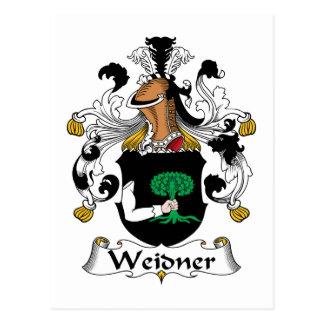 Weidner Family Crest Postcard