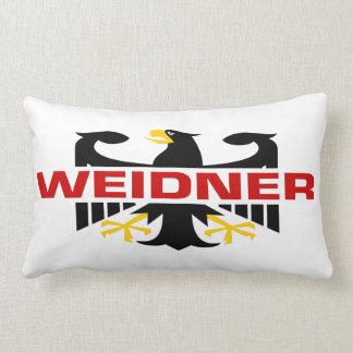 Weidner Surname Pillow