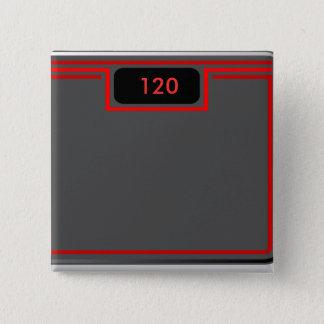 Weigh In, 120 Pinback Button