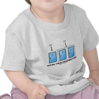 Weigh Your Probabilities (Three Doors) Tee Shirts