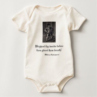 Weighest Thy Words Before Thou Givest Them Breath! Baby Bodysuit