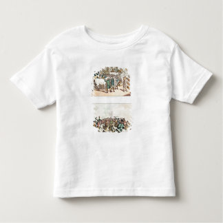 Weighing and Rubbing Down' and 'The Betting Toddler T-shirt