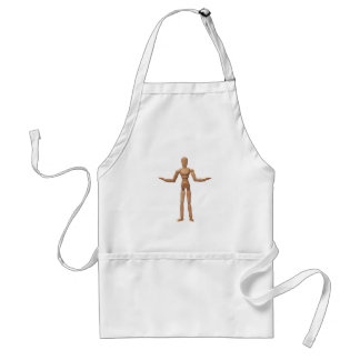 Weighing both sides adult apron