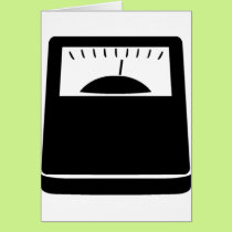 Weighing Scales Card