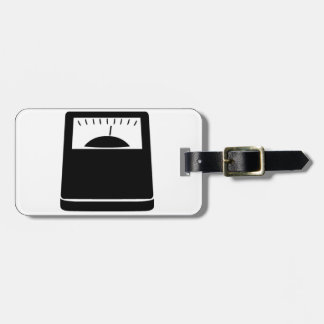 Weighing Scales Luggage Tag