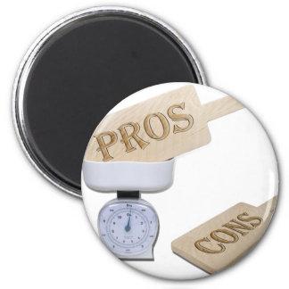 WeighProsCons103110 2 Inch Round Magnet