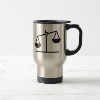 Weight and Balance Scale Travel Mug