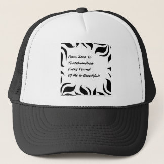 Weight don't matter trucker hat
